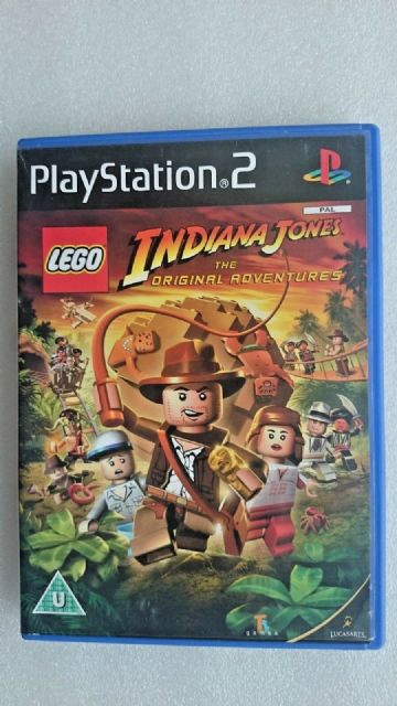 Lego Indiana Jones: The Original Adventures (Sony PlayStation 2, 2008)